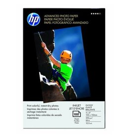 HP PAPER-HP ADVANCED GLOSSY PHOTO, 4X6 66LB. 100/PACK