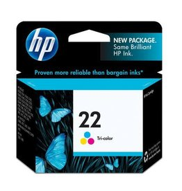 HP INKJET CARTRIDGE-HP #22 COLOUR
