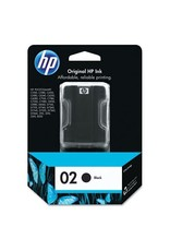 HP INKJET CARTRIDGE-HP #02 BLACK
