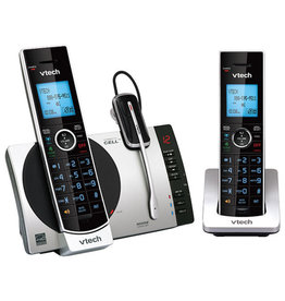VTech TELEPHONE/ANSWERER-CORDLESS DECT 6.0 SILVER/BLACK