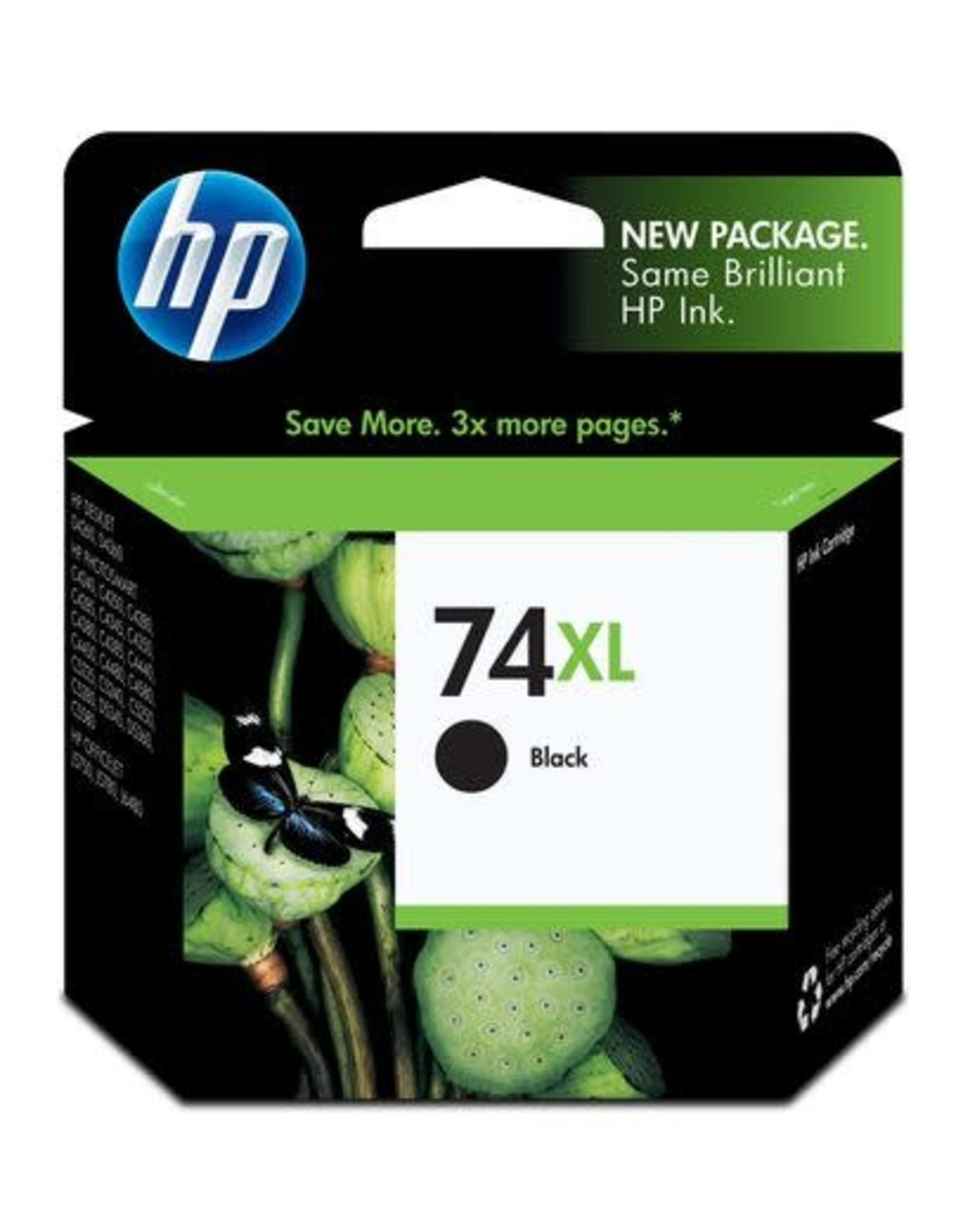 HP INKJET CARTRIDGE-HP #74XL BLACK HIGH YIELD