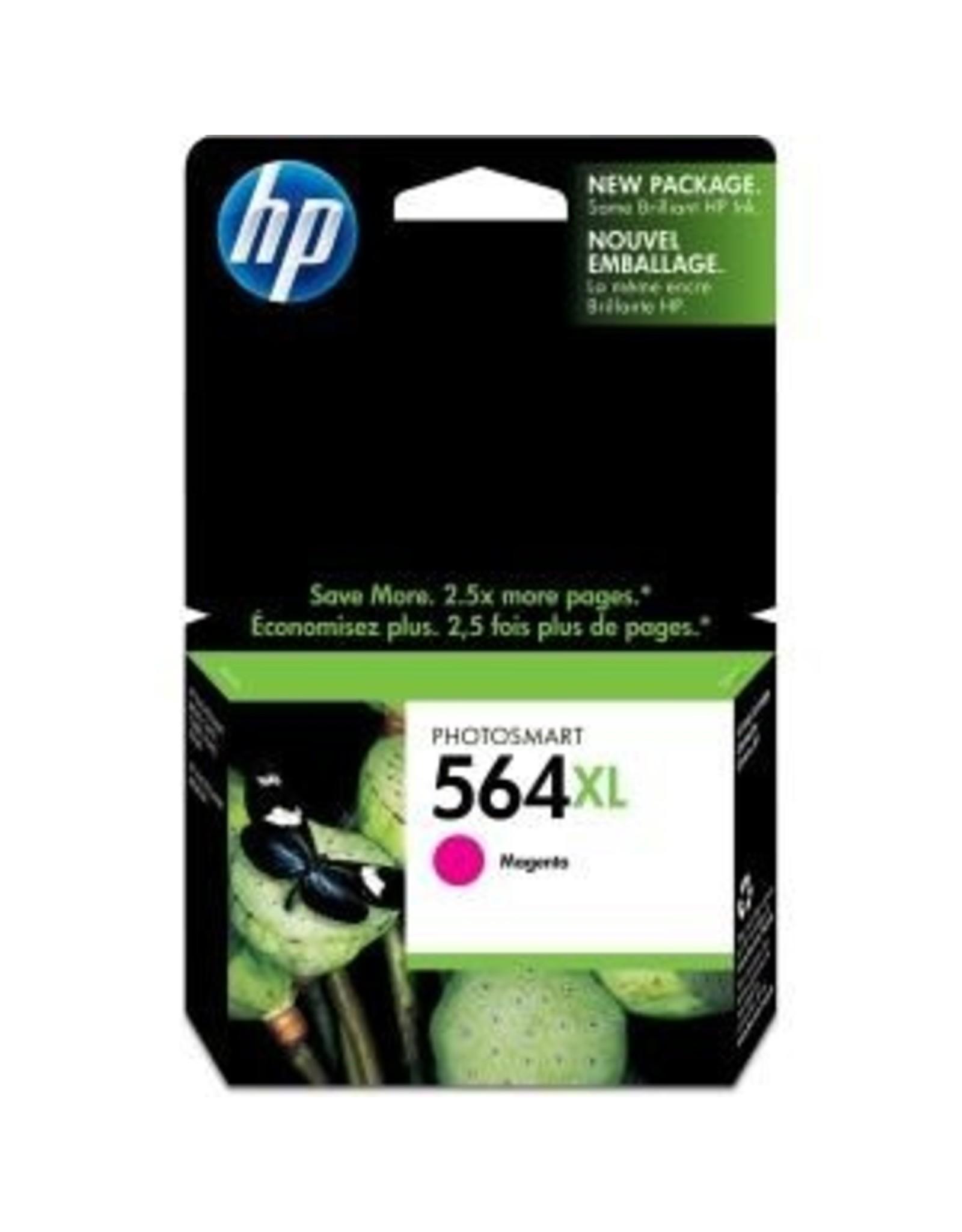 HP INKJET CARTRIDGE-HP #564XL MAGENTA HIGH YIELD