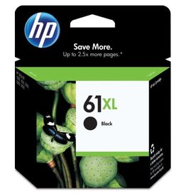 HP INKJET CARTRIDGE-HP #61XL BLACK HIGH YIELD