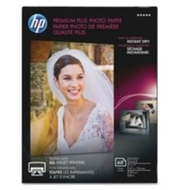HP PAPER-HP PREMIUM PLUS GLOSSY PHOTO, 5X7 60/PACK
