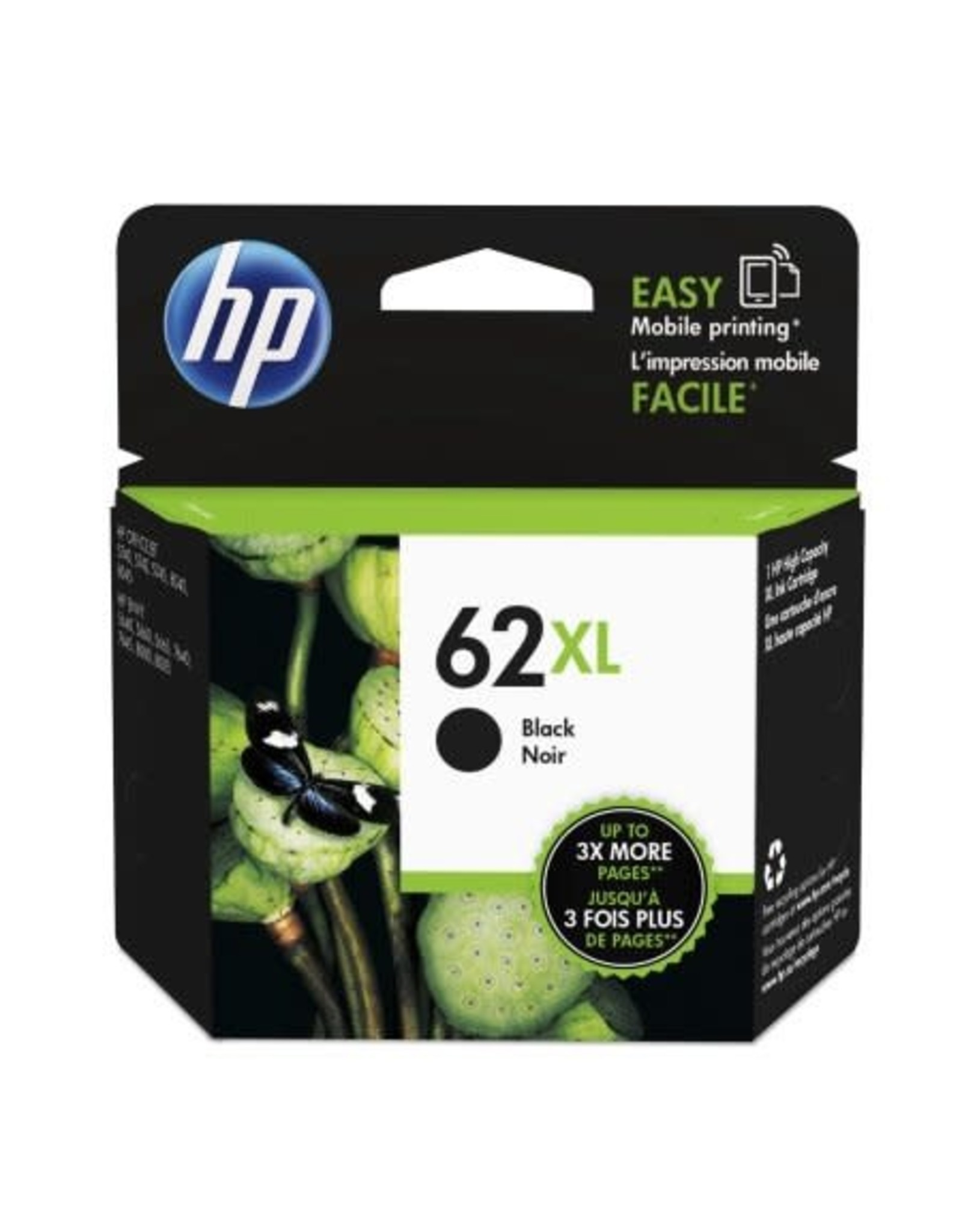 Randmar Inc. INKJET CARTRIDGE-HP #62XL BLACK