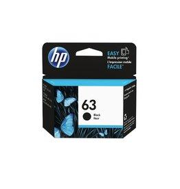 HP INKJET CARTRIDGE-HP #63 BLACK
