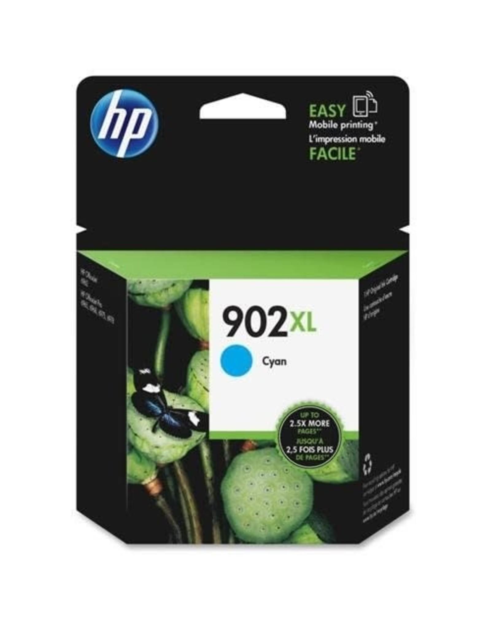 HP INKJET CARTRIDGE-HP #902XL CYAN HIGH YIELD