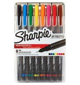 Sharpie MARKER SET-SHARPIE ART, FINE TIP, 8 COLOURS