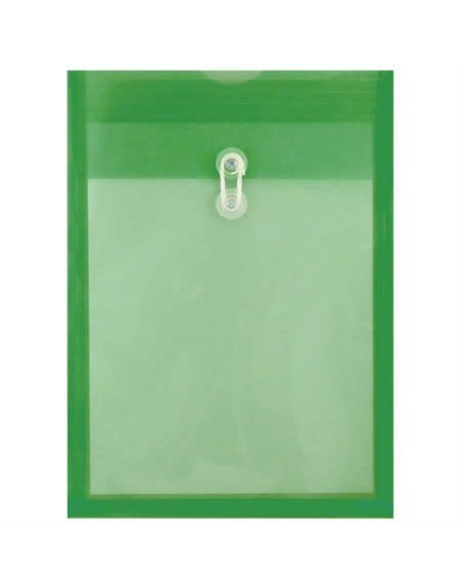 Winnable Enterprises ENVELOPE-POLY, TOP OPENING 13.25X9.75 GREEN