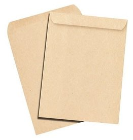 TOPS Products ENVELOPE-CATALOGUE 9X12 KRAFT, OP BRAND, 10/PACK
