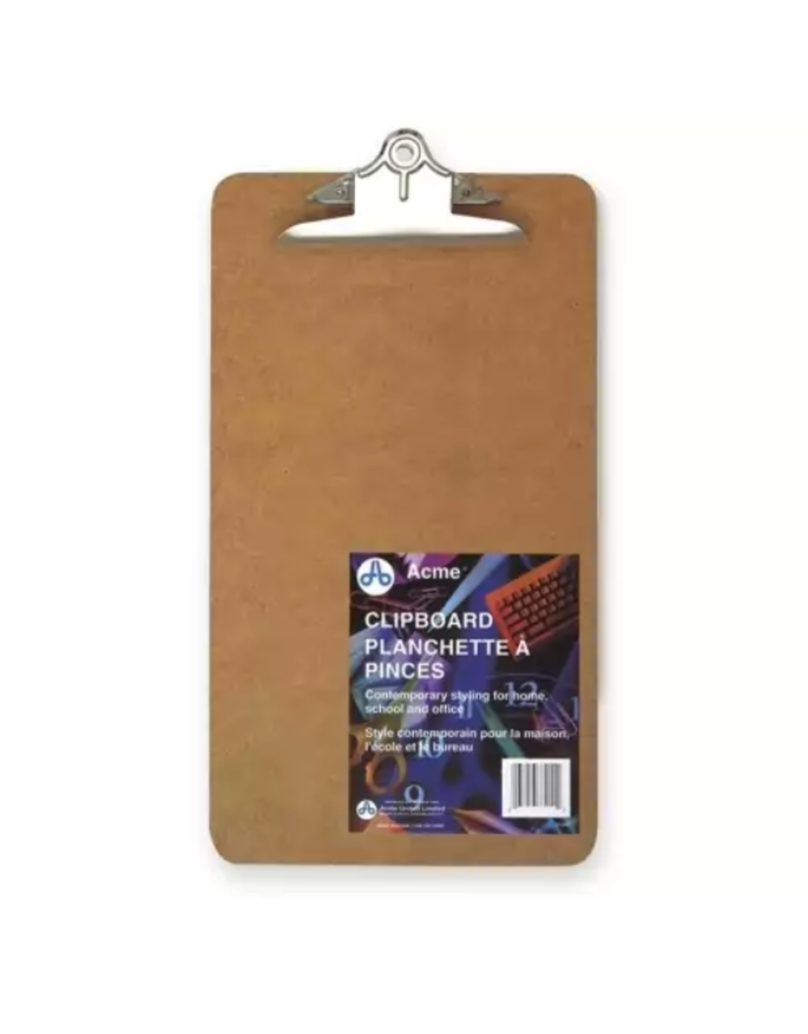 Acme United CLIPBOARD-MASONITE 9X15