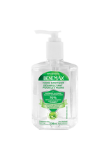 Benemax Benemax Hand Sanitizer with Aloe & Vitamin E 236ml Pump Bottle