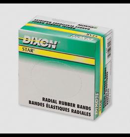 Dixon RUBBER BANDS-1/4 LB. BOX #6TH 1/16X6