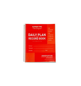 INNOVATIVE PLANNER-TEACHER PLAN & RECORD, SECONDARY RED