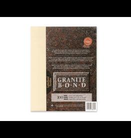 First Base Inc. PAPER-GRANITE BOND, LETTERHEAD, IVORY 100/PACK