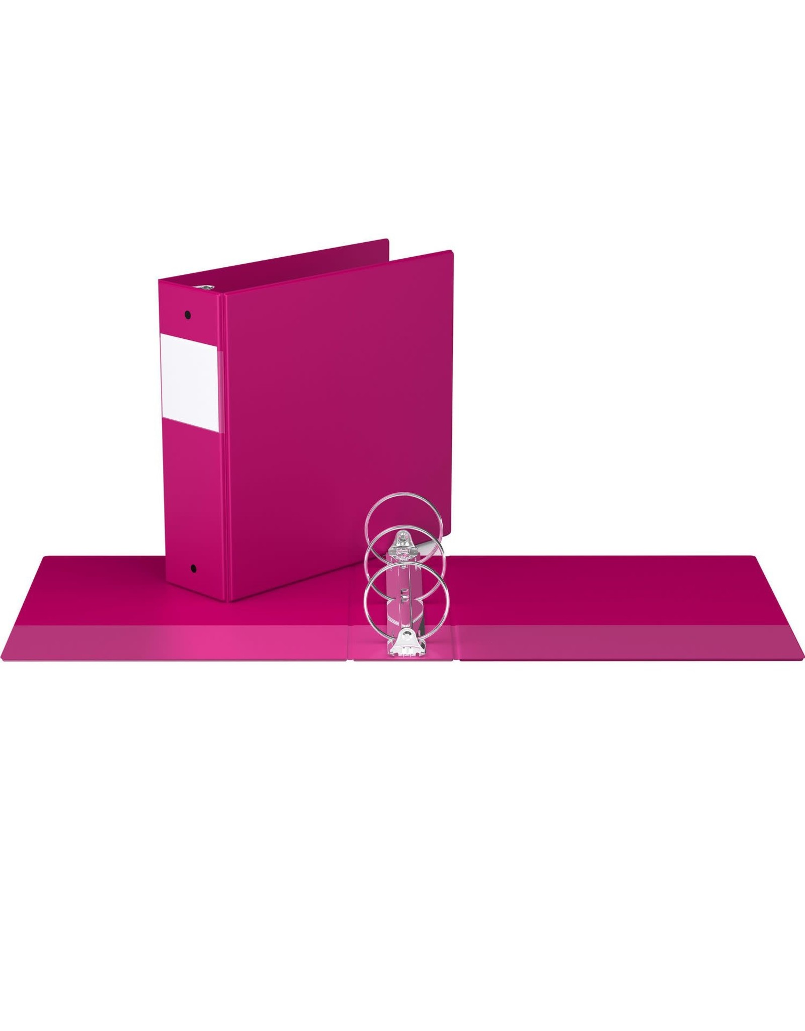 "Davis Group BINDER-ESSENTIAL 2300 3"" ROUND RING, PINK"