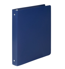 "ACCO Brands BINDER-POLY-5/8"" ROUND-23 POINT, BLUE"
