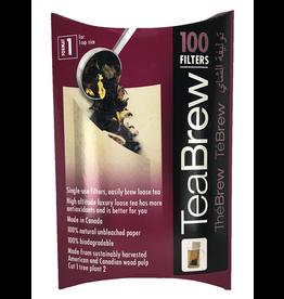 Tea Brew Filters Tea Brew, No. 1 Paper Bags, 100 pack