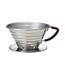 Kalita Kalita Wave 185 Stainless Steel Dripper Coffee Brewer