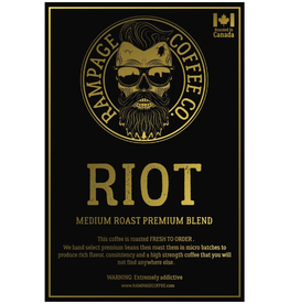 Rampage Coffee Co. Rampage Coffee, RIOT, 360g Beans
