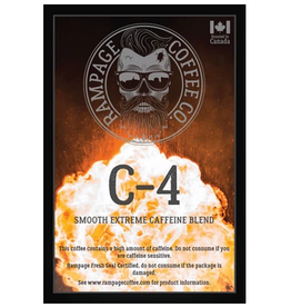 Rampage Coffee Co. Rampage Coffee, C-4, 360g Beans