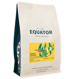 Equator Coffee Roasters Equator Coffee, Sweet Justice, 340g Beans