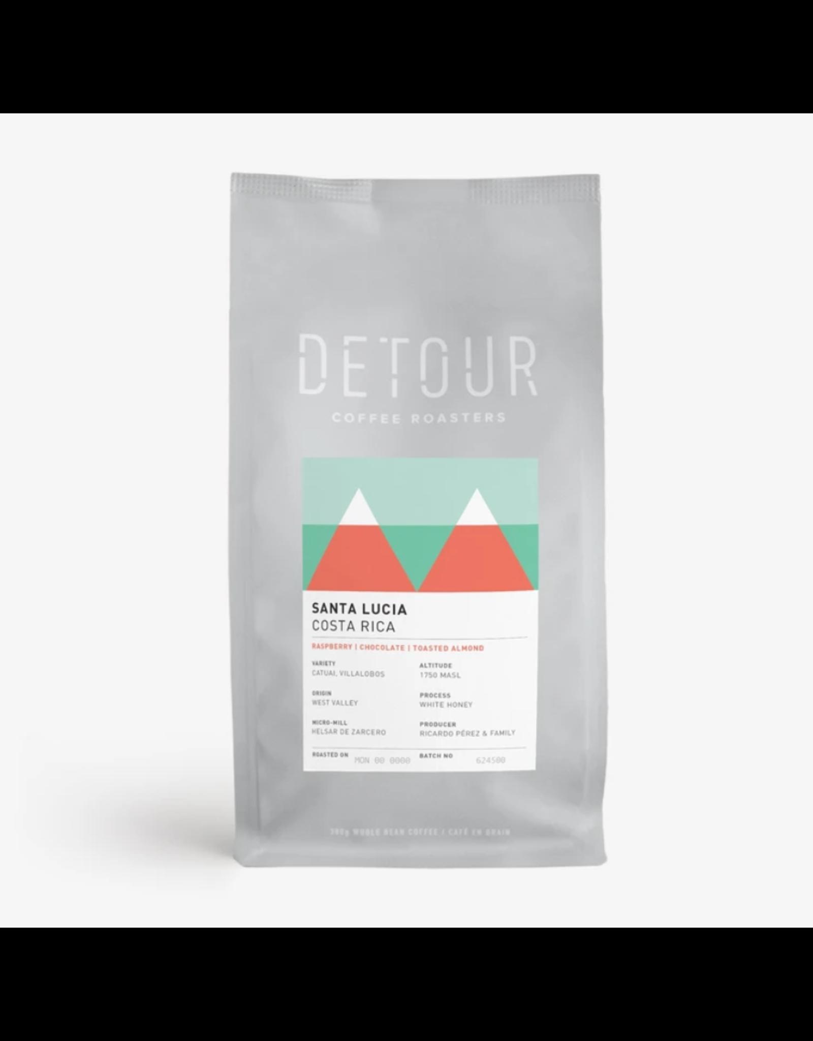 Detour Coffee Detour Coffee, Santa Lucia Costa Rica, 300g Beans