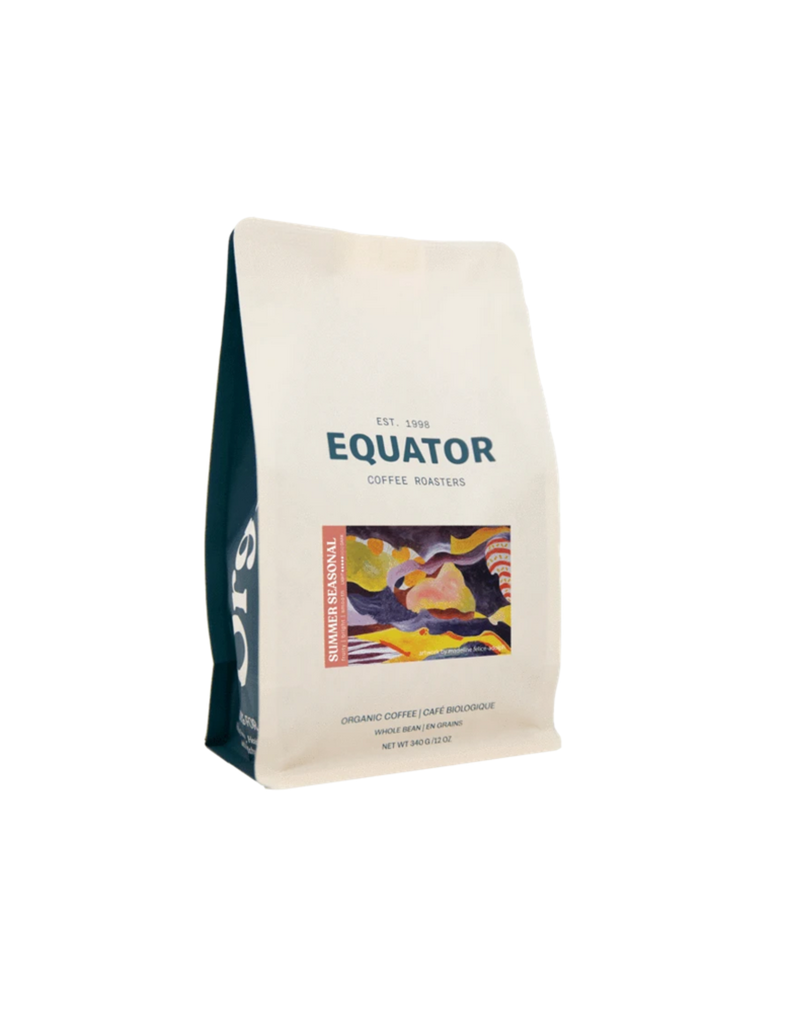 Equator Coffee Roasters Equator Coffee, Summer Seasonal Blend, 340g Beans