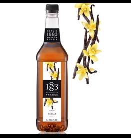 1883 Maison Routin France 1883 Syrup, Vanilla 1L Bottle