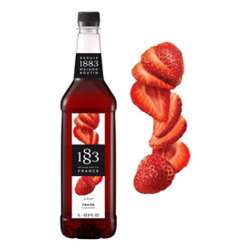 1883 Maison Routin France 1883 Syrup, Strawberry 1L Bottle