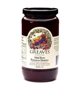 Greaves Jams & Marmalades Ltd. Greaves, Salad Beets, 500ml