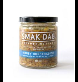 Smak Dab Foods Ltd. Smak Dab Gourmet Mustard, Honey Horseradish, 250mL