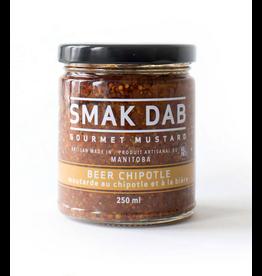Smak Dab Foods Ltd. Smak Dab Gourmet Mustard, Beer Chipotle, 250mL