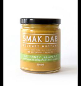 Smak Dab Foods Ltd. Smak Dab Gourmet Mustard, Hot Honey Jalapeno, 250mL