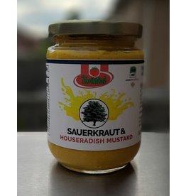 Twisted Tomato Twisted Tomato, Sauerkraut & Horseradish Mustard 350ml