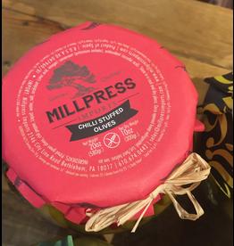 Millpress Imports Millpress Imports, Chilli Stuffed Olives