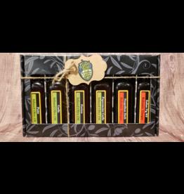 Liquid Gold Olive Oils & Vinegars Inc Liquid Gold, Pizza Night Oil & Vinegar Pack, 6 x 60ml
