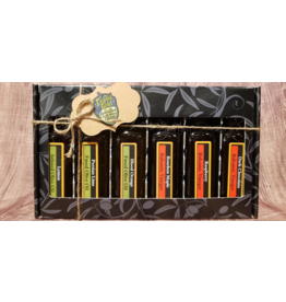 Liquid Gold Olive Oils & Vinegars Inc Liquid Gold, Sweet Treats Oil & Vinegar Pack, 6 x 60ml
