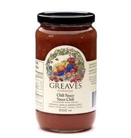 Greaves Jams & Marmalades Ltd. Greaves, Chili Sauce, 500ml