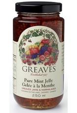 Greaves Jams & Marmalades Ltd. Greaves, Mint Jelly, 125ml