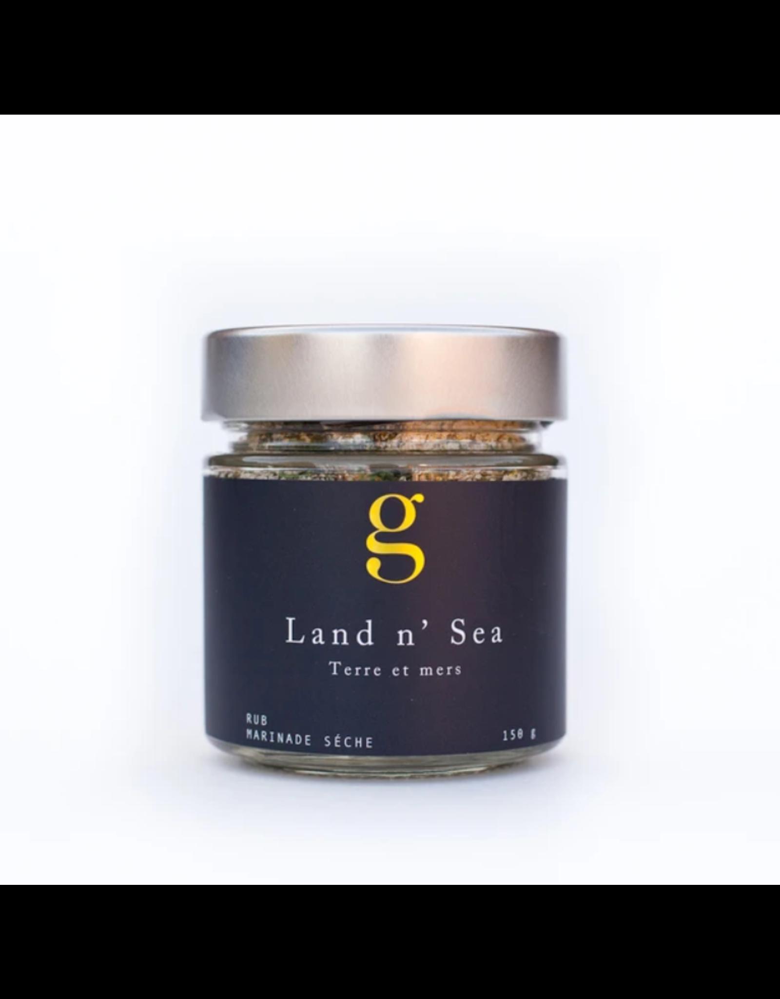 Gourmet Inspirations Gourmet Inspirations, Land'N'Sea Rub 150g