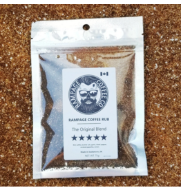 Rampage Coffee Co. Rampage Coffee Rub, The Original Blend