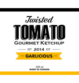 Twisted Tomato Twisted Tomato, Gourmet Ketchup Garlicious 350ml