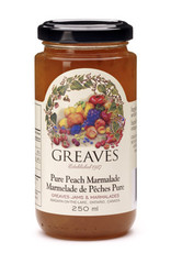 Greaves Jams & Marmalades Ltd. Greaves, Peach Marmalade, 250ml