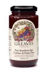 Greaves Jams & Marmalades Ltd. Greaves, Strawberry Jam, 250ml