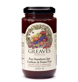 Greaves Jams & Marmalades Ltd. Greaves, Strawberry Jam, 250ml