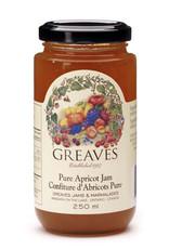 Greaves Jams & Marmalades Ltd. Greaves, Apricot Jam, 250ml