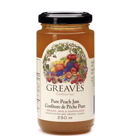 Greaves Jams & Marmalades Ltd. Greaves, Peach Jam, 250ml