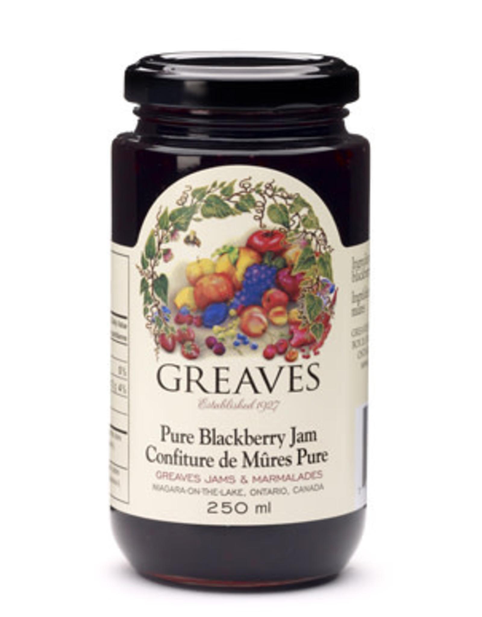 Greaves Jams & Marmalades Ltd. Greaves, Blackberry Jam, 250ml