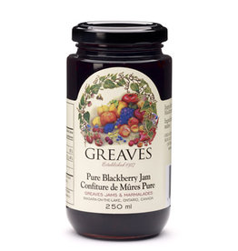 Greaves Jams & Marmalades Ltd. Greaves, Blackberry Jam, 250ml